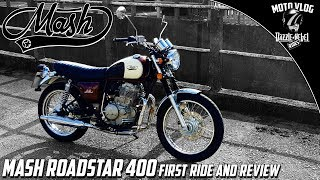 MASH Roadstar 400 First Ride and Review