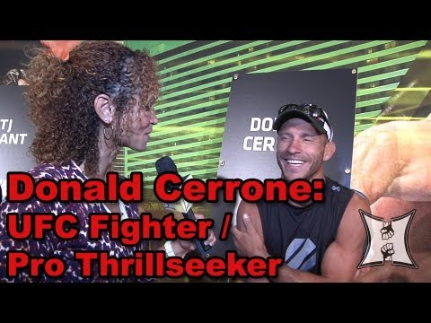 UFC 160s Donald Cerrone on KJ Noons Bout Guillard KO  Near Death Experience