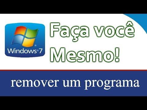Como desinstalar um programa no Windows 7