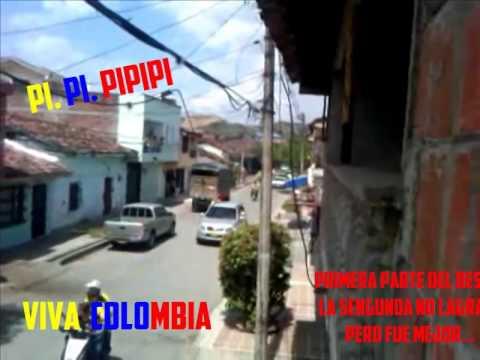 Desfile En Zarzal ¡CLASIFICO COLOMBIA!
