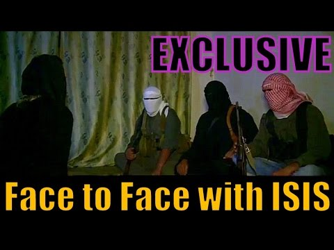 An EXCLUSIVE INTERVIEW with ISIS | Face to Face with ISIS Clandestine Cells
