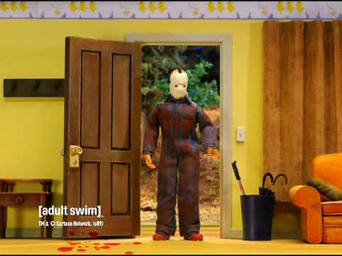 Robot Chicken - Jason Voorhees at Home [adult swim] Video