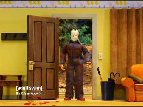 Robot Chicken - Jason Voorhees at Home [adult swim] Video