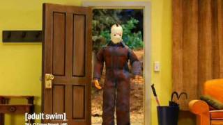 Robot Chicken - Jason Voorhees at Home [adult swim]