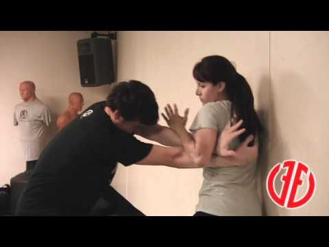 Krav Maga: Choke from Behind, How To Fight, Real Self Defense Techniques Image 1