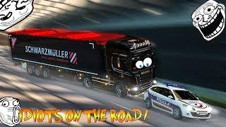 Euro Truck Simulator 2 Multiplayer   Funny Moments & Crash Compilation   #33