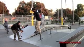 Cameron Spivey At Bobby Bonds Skatepark -CensoredApparel