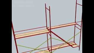 H Tipi İskele Sistemi - H Type Scaffolding Systems