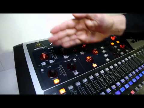 NAMM 2011 - The new BEHRINGER X32 Digital Mixer!