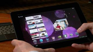 ASUS Eee Pad Transformer Prime  running Ice Cream Sandwich