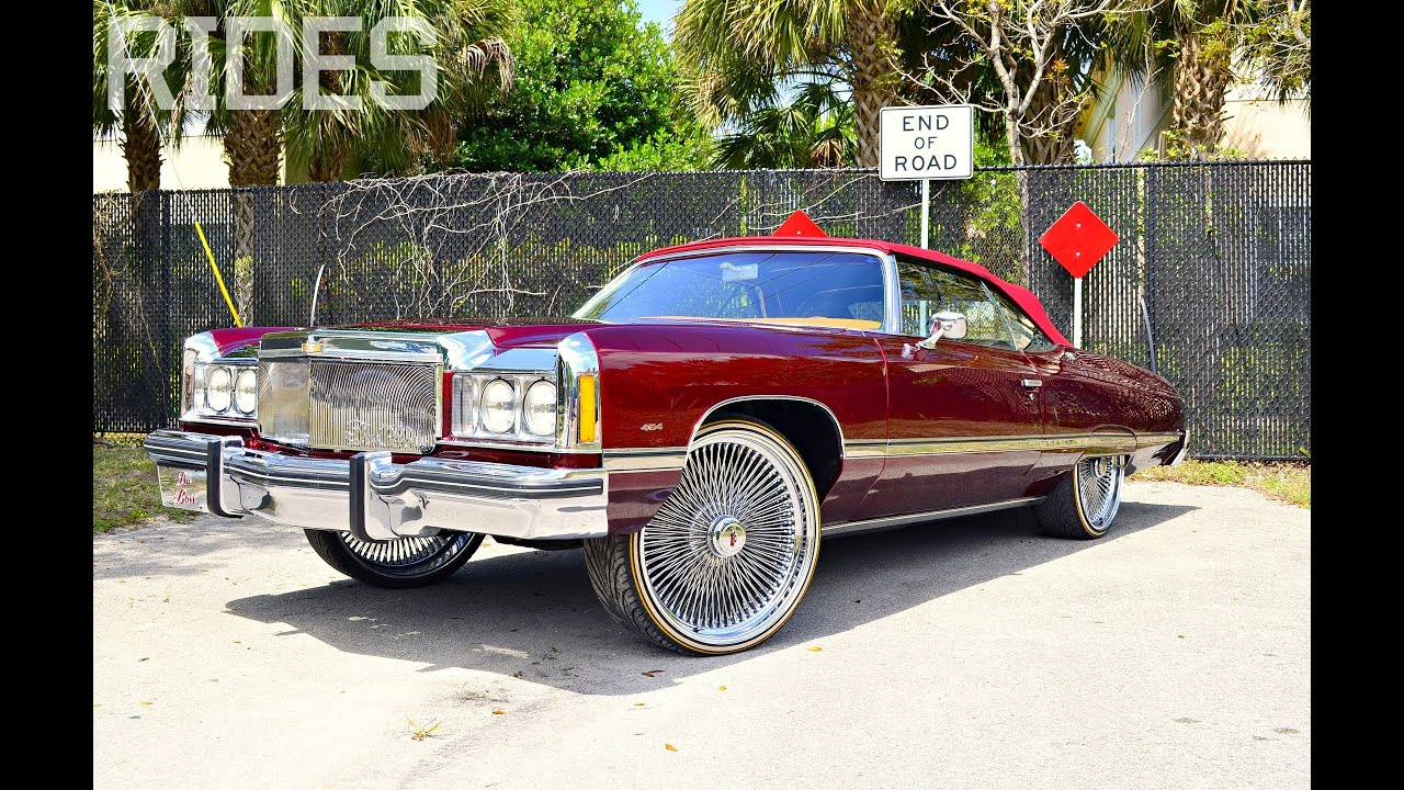 Rides Mag Com Da Boss 74 Caprice Convertible Youtube
