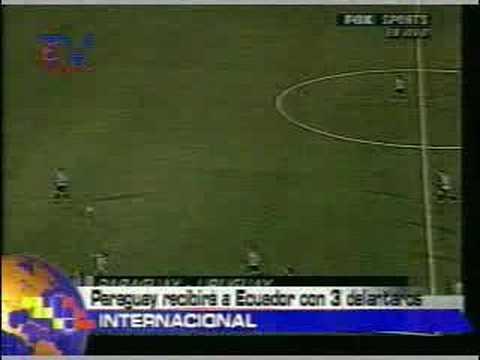 Paraguay recibirá a Ecuador