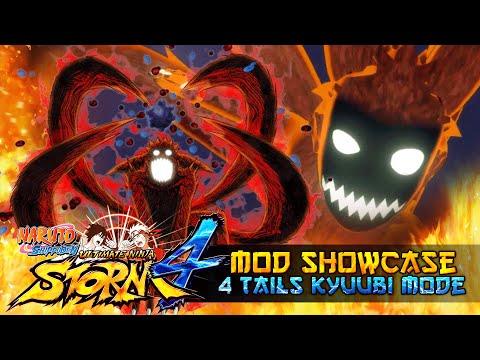 4 Tails Kyuubi Naruto Enraged!!! Naruto Shippuden Ultimate Ninja Storm 4 Mods thumbnail