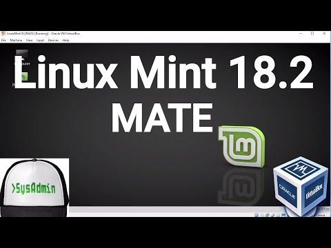 Linux Mint 18.2 MATE Installation on Oracle VirtualBox [2017]