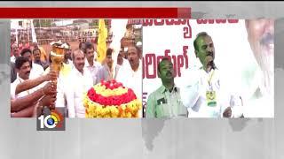 TDP Minister's Inaugurates Volleyball Tournament - Ponnur - AP  - netivaarthalu.com