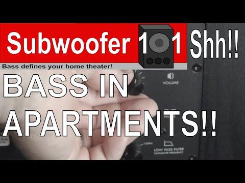 Apartment Subwoofer Tips (Condos, Townhouses, etc...Quieter Subwoofing)