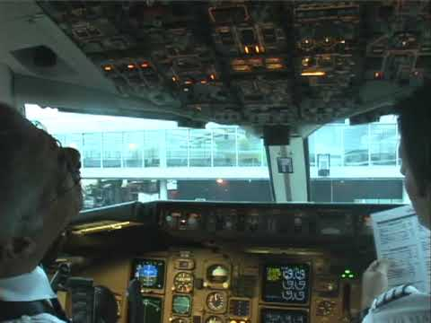 Real cockpit video Amsterdam to Curacao # 1 (Boeing 767-300ER) Please read the info.message!