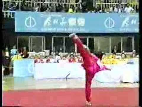1990 Asian Games Wushu Changquan Yuan Wenqing China 9.88