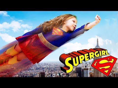 МОЁ УТРО СУПЕР ГЕРЛ My Morning routine Supergirl Steel girl