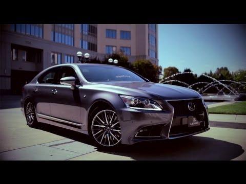 Тест-драйв Lexus LS F-Sport 2012