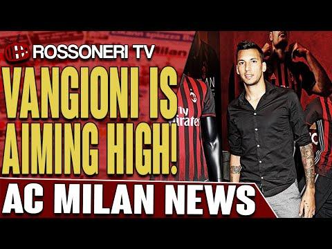 Vangioni Is Aiming High! | AC Milan News | Rossoneri TV