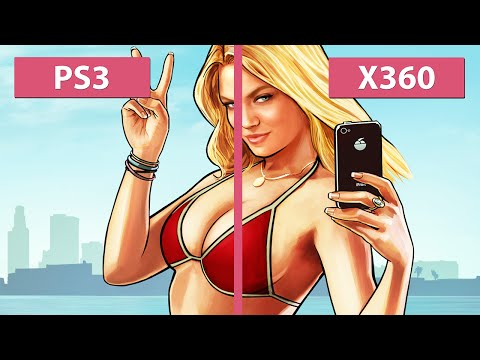 Grand Theft Auto 5 / GTA 5 – PS3 vs. Xbox 360 Graphics Comparison [FullHD]