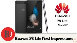 Huawei P8 Lite unboxing and first impressions review