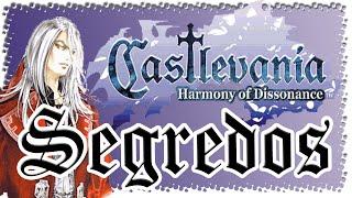 Castlevania Harmony of Dissonance - Segredos / Secrets