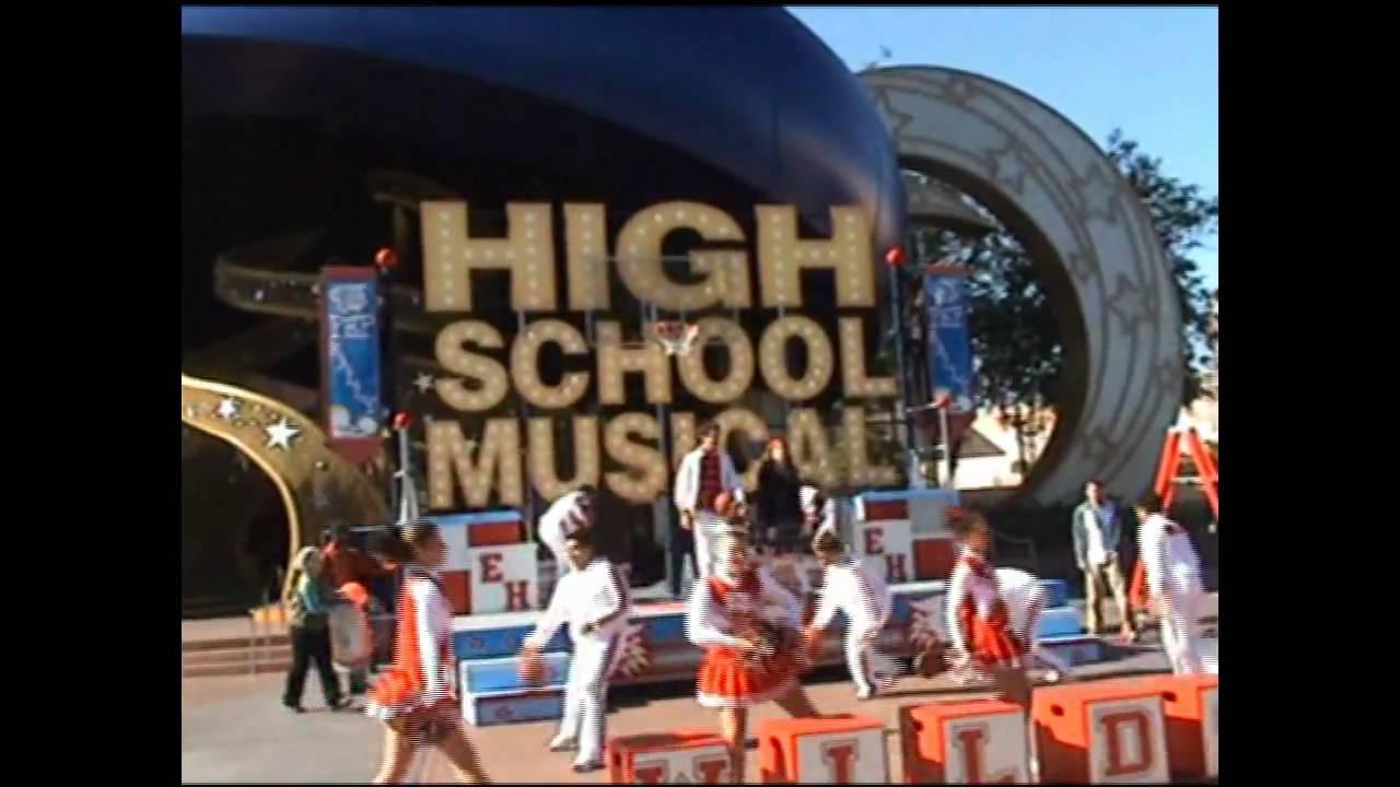 Disney mgm studios high school musical pep rally youtube