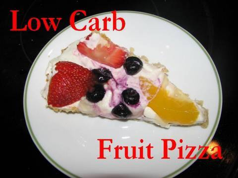 Atkins Diet Recipes: Low Carb Fruit Pizza