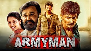 South Indian Best Hindi Dubbed Movie Army Man | Jiiva, Mohanlal