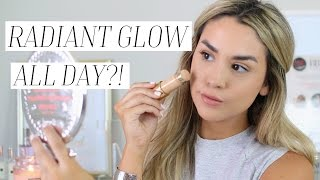 BEST SUMMER GLOWING FOUNDATION?! FIRST IMPRESSION REVIEW & DEMO