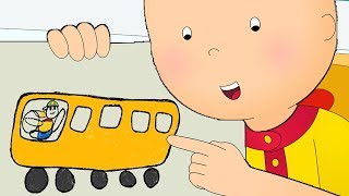 Caillou Goes to School | Fun for Kids | Videos for Toddlers | Family Fun | Full Episode