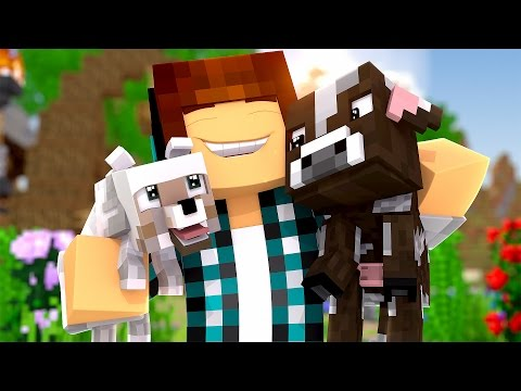 Minecraft : ANIMAIS FOFOS NO MINECRAFT