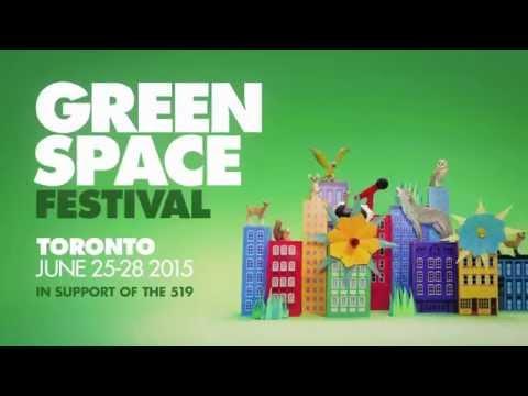 Green Space Festival: June 25-28, 2015