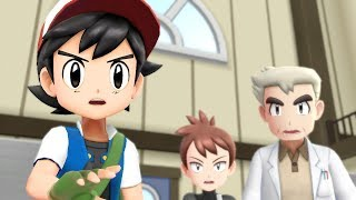 ASH KETCHUM in Pokemon Let's Go Pikachu & Eevee