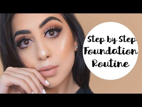 Step by Step Foundation Routine with Lea | خطوات تطبيق مكياج الاساس مع ليا