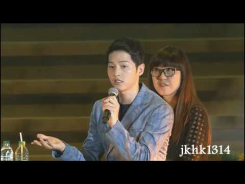 [Engsub]송중기 송혜교 Song Hye Kyo Song Joong Ki thanked Global Song Song Couple & Songsongholic Korea