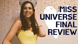 Miss Universe 2018-  Final Review