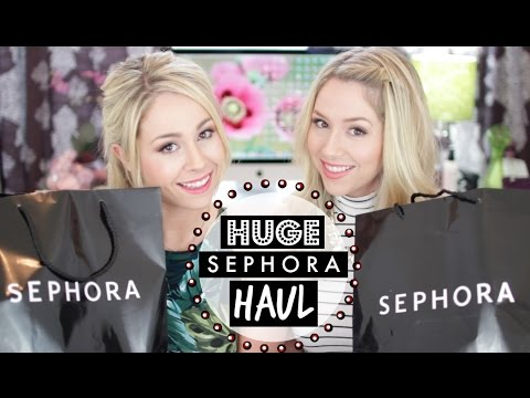 HUGE Sephora Haul + GIVEAWAY!