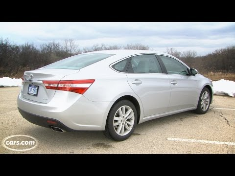 2013 Toyota Avalon Exhaust Note