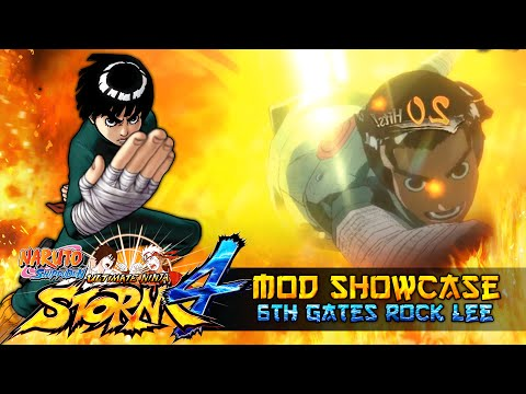 Rock Lee 6th Gates Unlocked!!! Naruto Shippuden Ultimate Ninja Storm 4 Mod thumbnail