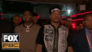 Watch Errol Spence Jr. & Shawn Porter's entrances featuring WWE's Big E | PBC ON FOX