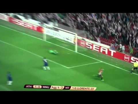 Fernando Llorente vs Man utd 15/3/12 Wonder Goal