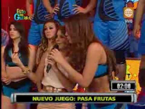 Esto es Guerra: Jazmín se molesta por juego entre Michelle y Gino Assereto - 22/08/2013