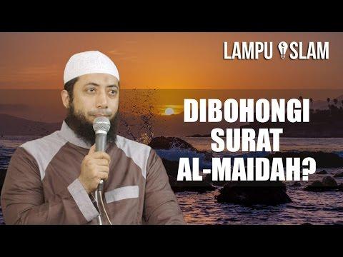 Tanggapan Ustad Khalid Tentang Dibohongi Surat Al Maidah 51