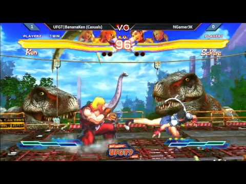 UFGT9  UFGT BananaKen vs. NGamer3K - Street Foghter Cross Tekken Pools