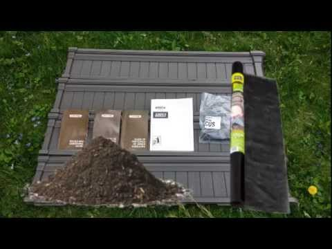 Lifetime Raised Garden Bed Review and Assembly