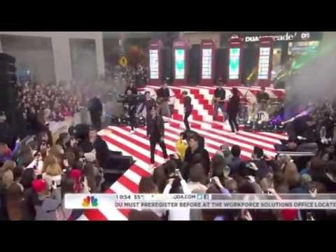 One Direction - Kiss You - Live On The Today Show - 2013 (hd) video