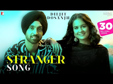 Stranger Song | Diljit Dosanjh | Simar Kaur | Alfaaz | Official Music Video | New Punjabi Song 2020